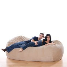 Jaxx 7.5 FT Grand Lounger. A Huge beanbag. Awesome :))