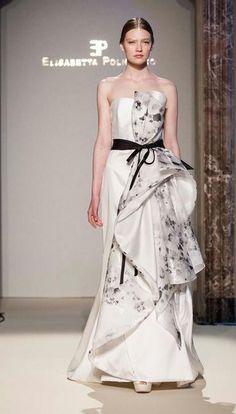 f3a3eceab2a0 Presentazione sfilata Elisabetta Polignano - collezione sposa 2016 Vestiti  Formali