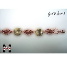 Copper Chain Maille Bracelet Pattern at Sova-Enterprises.com