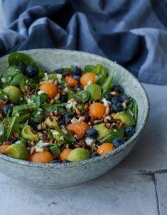 Raw Food Recipes, Salad Recipes, Diet Recipes, Vegetarian Recipes, Healthy Recipes, Recipies, Avocado, Broccoli Pizza, Food Inspiration