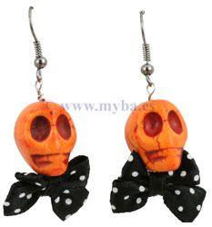 Diseños de bisutería para Halloween. Componentes a la venta online en www.manualidadesybellasartes.es