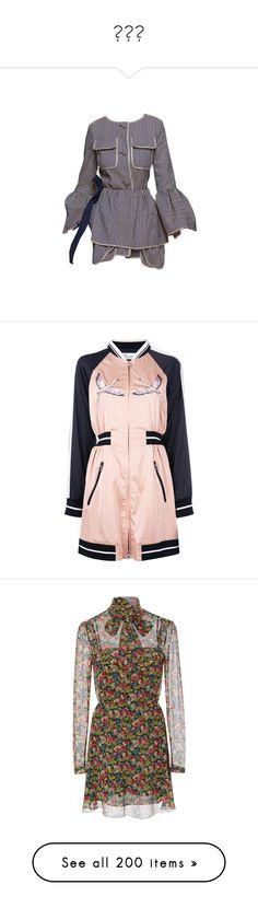 """""""원피스"""" by myonmyonee ❤ liked on Polyvore featuring dresses, fendi, embroidered dresses, nude dress, broderie dress, pink embroidered dress, embroidery dress, long sleeve floral dress, mini dress and silk mini dress"""