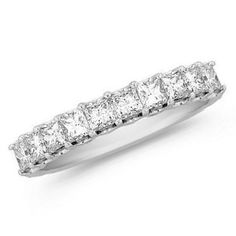 1 CT Princess Cut Anniversary band. I should probably start saving my pennies now, because I LOVE this ring.