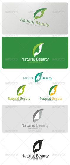 Natural Beauty Logo Template #GraphicRiver Natural Beauty is a simple and effective logo suitable for bio cosmetics businesses, natural pharma#woman