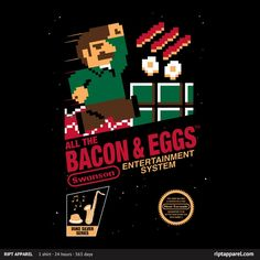 Parks and Recreation - All the Bacon and Eggs by mikehandyart