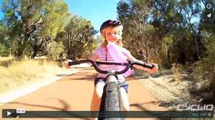 You never know what you will encounter when you go for a ride in Australia! http://cycliq.com/videos/kangaroo-spotting #fly6 #cyclingvideos #kangaroo