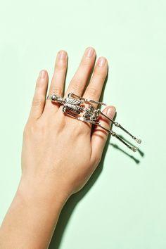 Mr. Bone Jangles Ring #tiffany replica tiffany jewelry sterling silver