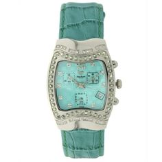 Lucien Piccard - Green Sapphire and Diamond #watch