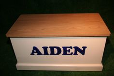 Traditional Wooden Toy Box  Hand made and by LittleChameleons, £234.95