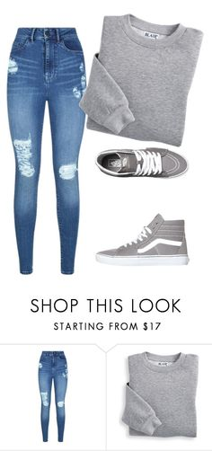 """""""Casual outfit. . ."""" by mooshamoo ❤ liked on Polyvore featuring Lipsy, Blair and Vans"""