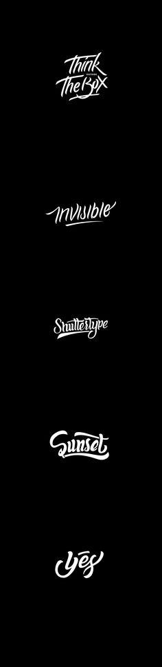 lettering & logotype