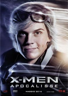 X-Men Apocalypse - Quicksilver. Italian promo poster.