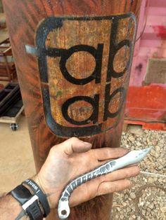 Rebar Knife by FabLab808Studios on Etsy