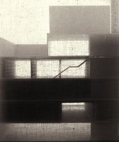 Caruso St John, first concept model for New Art Gallery Walsall 1985