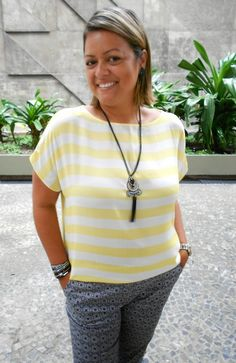 Portal da Flá: Look do dia - Mix de estampas!!