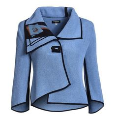 Cardigan ❤ liked on Polyvore featuring tops, cardigans, blue cardigan, blue top and cardigan top
