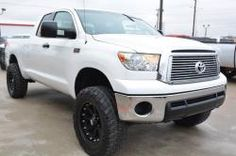 2012 Toyota Tundra 5.7L iForce V8 Double Cab Lifted Truck Ft Wort