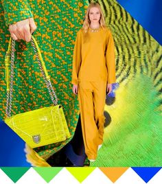 S/S 2017 women's pattern & colors trends: