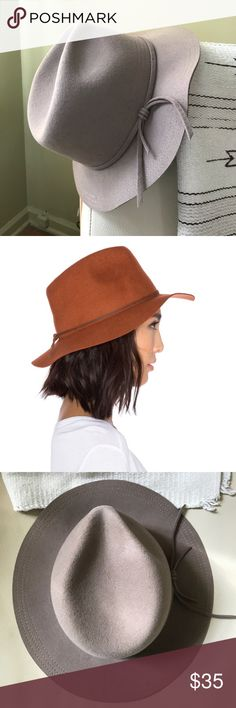 befbcec4bf910 Brixton felt hat Brixton felt hat in a size The stock photo is the best I  could find for the style- actual color is a taupe tan.