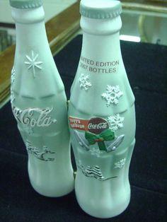 Coca Cola LE 2007 Holiday Bottle