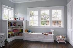 Interior Door And Window Trim Kids Room Decorating Window Trim Ideas. Door And Window Trim. Door And Window Trim Ideas. Door And Window Trim. Craftsman Windows, Craftsman Cottage, Craftsman Interior, Craftsman Style, Craftsman Trim, Light Grey Walls, Light Gray Paint, Grey Paint, Grey Bedroom Paint