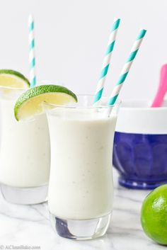 Coconut, lime and white chocolate milkshake, with an ice cream option too! (Vegan, Paleo and Gluten Free)