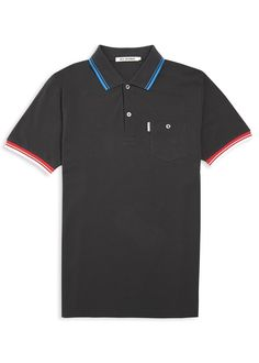 11c926e4 Black Reno polo shirt | Ben Sherman Online Store Football Things, Ben  Sherman, Gingham