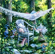 'Private Time' ~ Susan Rios
