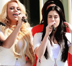 Lauren and Dinah Singing Happy Birthday(Fifth Harmony)