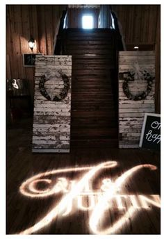 Planning a Wedding? Stop by Charlott's to find the perfect decoration for your dream wedding.  -- it is all available at Charlott's Antiques, San Antonio, TX. Vintage doors made out of OLD KT dance hall wood.