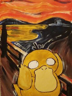 Psyduck's Scream by PReih