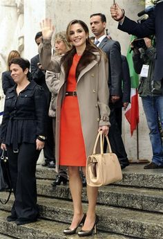 Glamorous fashion and style: Queen Rania Al-Abdullah