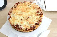 Pasta mal anders, aus der Familienküche, Nudeltorte, Rigatonitorte, Kochen für Kinder, Nudelgericht, Rezeptidee, Kindergericht http://lifestylemommy.de/food-pasta-mal-anders-familienkueche-nudeltorte/