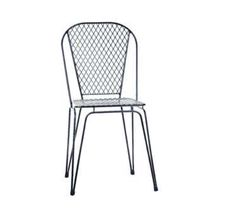 1654/LUGANO. Metal chair. Available in various colors. Outdoor/indoor use. Have a project. Contact us..