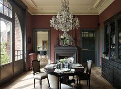 Merveilleux Ambiance 19e Siècle Dans Cette Maison Lilloise. Salle À Manger ...