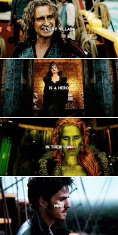 Every villain is a hero in their own mind. #ouat