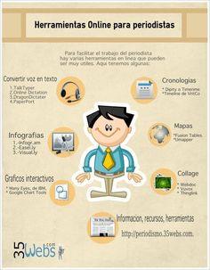 Herramientas online para periodistas #infografia #infographic