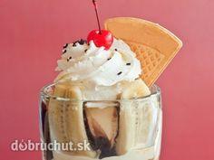Banánová domáca zmrzlina Ice Cream, Pudding, Treats, Ethnic Recipes, Sweet, Food, No Churn Ice Cream, Sweet Like Candy, Candy