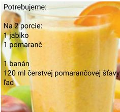 Pomarancove smoothie
