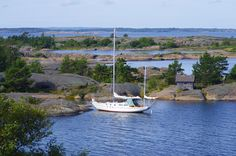 Andy Schell and his wife, Mia, explore the red rocky islands of the Åland archipelago in the Baltic and find a wealth of seafaring stories Us Sailing, Oceans Of The World, Stockholm Sweden, Nature Reserve, Travel Information, Archipelago, Big Island, Finland, Tourism