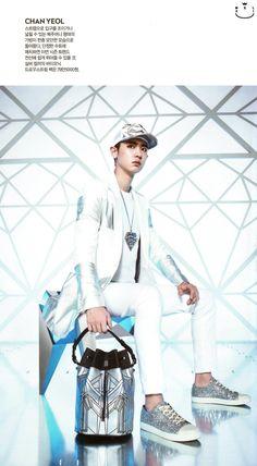 Chanyeol - 150421 Singles magazine, May 2015 issue - [SCAN][HQ] Credit: Mel:xiu.