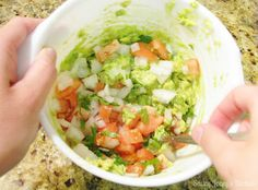 Saucy Joceys Kitchen: CHUNKY Guacamole! Strict Diet, Types Of Food, Guacamole, A Food, Salsa, Ethnic Recipes, Kitchen, Cinco De Mayo, Baking Center