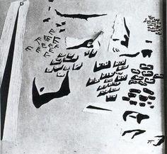 Pescadores al sol - Salvador Dalí - 1926. Óleo e hilachas sobre lienzo. 100 x 100 cm. Propiedad particular. Barcelona. España.