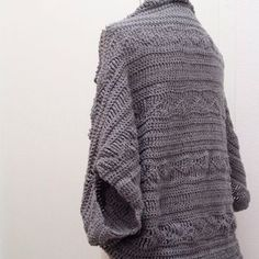 Gratis haakpatroon Shrug / Free crochet pattern shrug | Jenin's | Bloglovin'