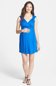 Maternal America 'Vanessa' Maternity Dress available at #Nordstrom