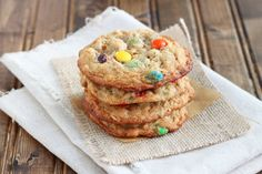 1 dozen Monster Cookies. small batch!
