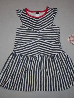 eea2fd72b18 Girl Tea Collection Punktchen Flutter Dress Black White Polka Dot Size 5