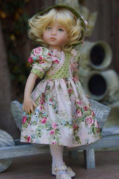 Sweet Roses by Ladybug Doll Designs on ebay