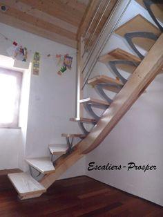 02 98 48 42 29 s/ RDV, Conception & pose d'escaliers limon central, bois, mixte (bois-métal), Métiss, prox. Brest, Finistère, Morbihan & Côtes d'Armor (22+29+56)