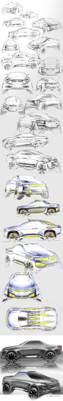 https://www.behance.net/gallery/32159317/BMW-pick-up